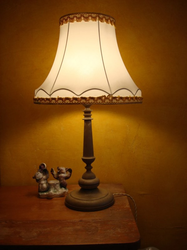 Antique Great Table Lamp Victorian Style