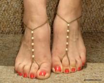 Barefoot Sandal Pearl
