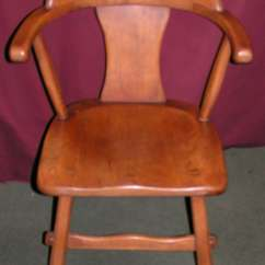 Sikes Chair Company Ikea Accent Reserved Vintage Maple Captains By
