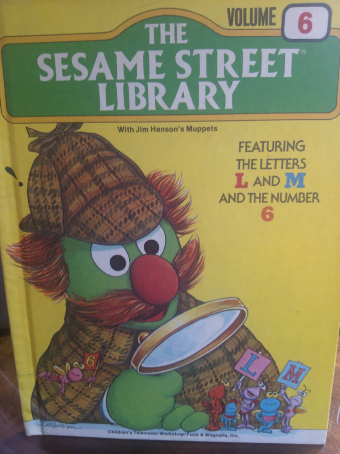 The Sesame Street Library Vintage Large Children By