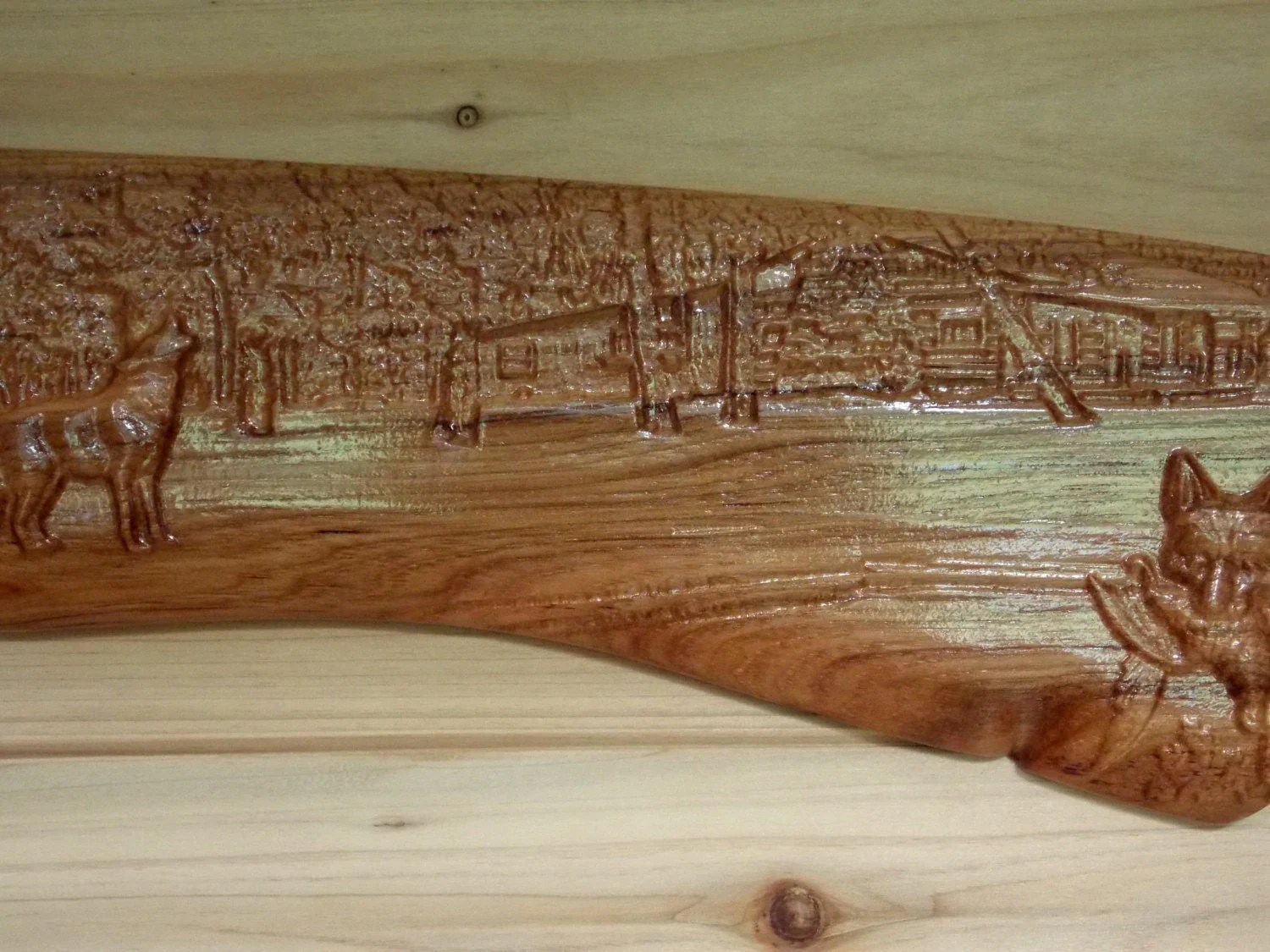Wolf Wall Decor Wolf Wood Carving Wolf By Thewoodgraingallery