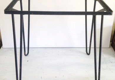 Table Wrought Iron Etsy