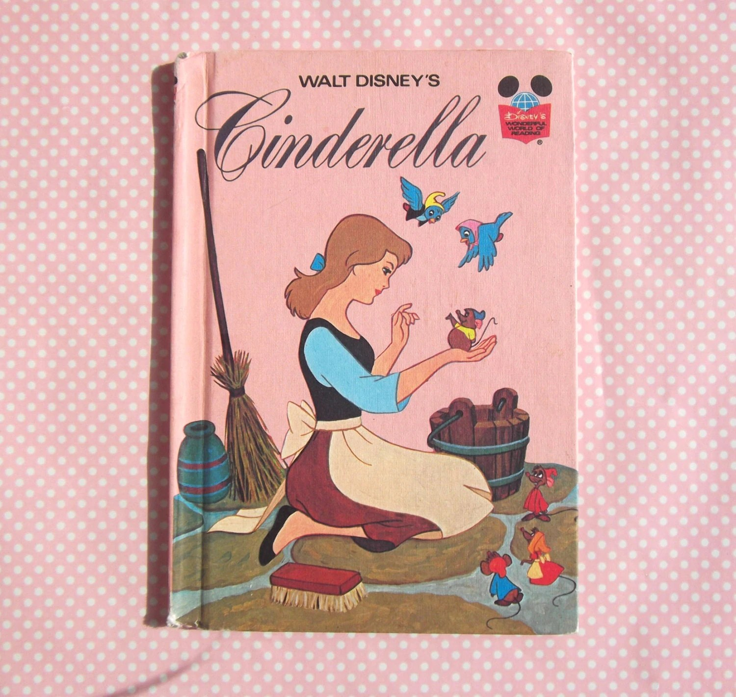 Disney S Wonderful World Of Reading Cinderella Vintage