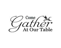 Popular items for gather at our table on Etsy