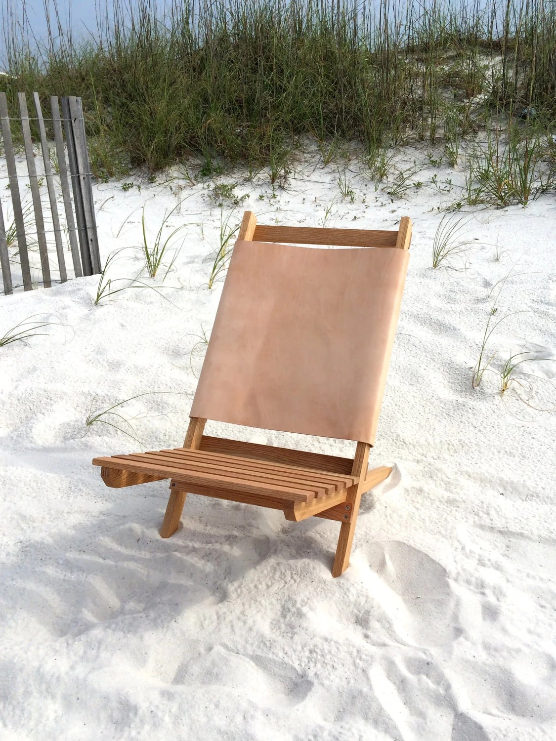 wood camp chair sleeping in a every night leather by postdallas on etsy