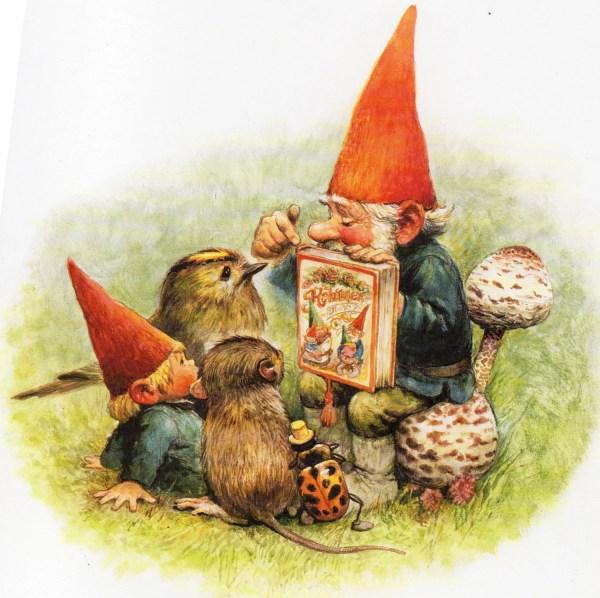 Art Print Rien Poortvliet Gnome Elf David