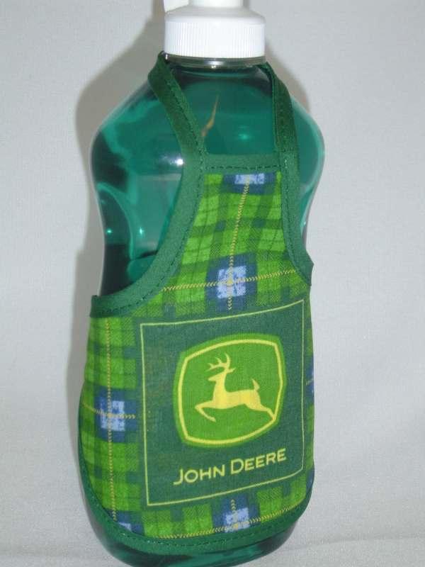 John Deere Kitchen Decor Dish Soap Bottle Apron Cover Party
