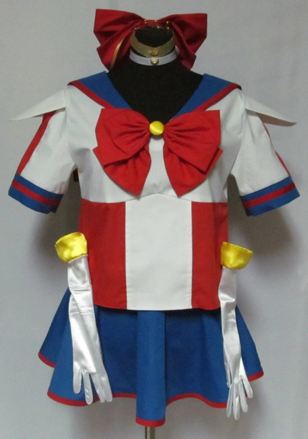Size Sailor Moon Manga Costume Cosplay Adult
