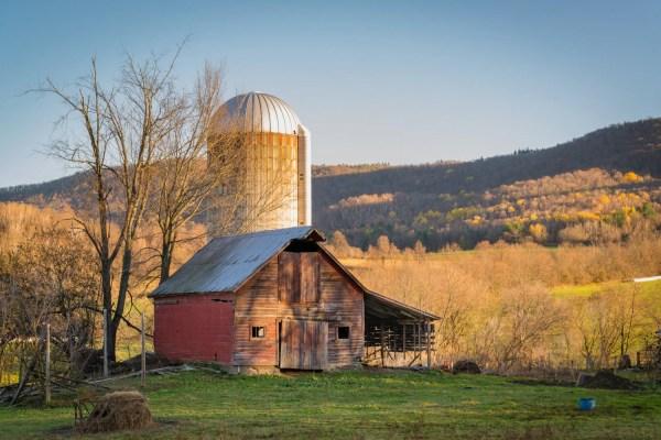 Barn Landscape Photography