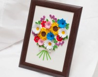 Beautiful Quilled Picture Framed Wall Art Paper by ...