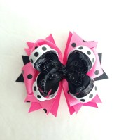 kitty hair bows inspired