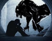 Werewolf wall decal Halloween wall decal Halloween decor