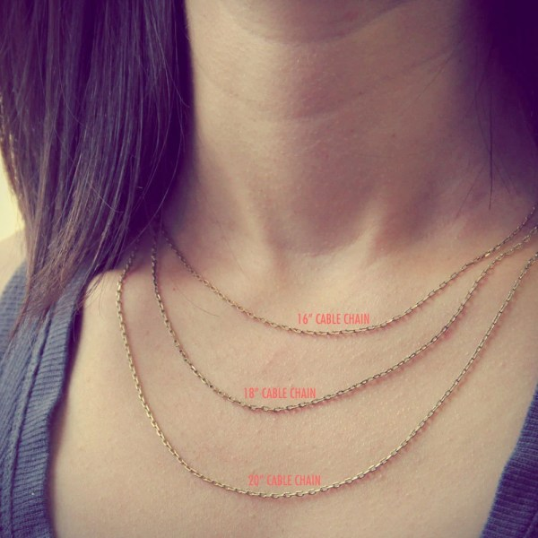 16 Inch Chain Necklace