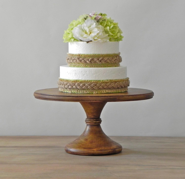 14 Wedding Cake Stand Pedestal Cake Stand Rustic Cake