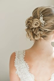 bridal hair comb hairpiece