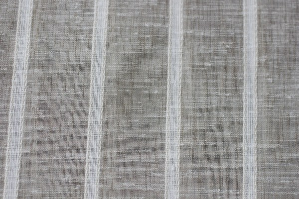 Sheer Stripe Linen Fabric