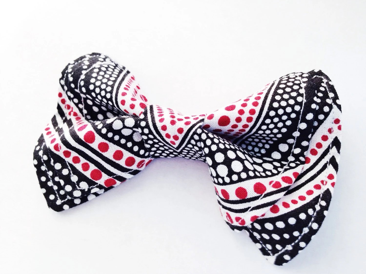 Boys Bow Tie Red White and Black Bow Tie Bow Ties Toddler