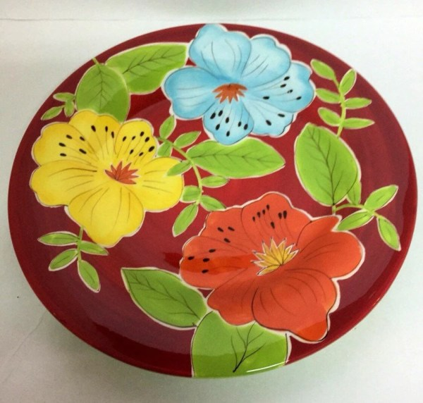 Laurie Gates Dinnerware Floral