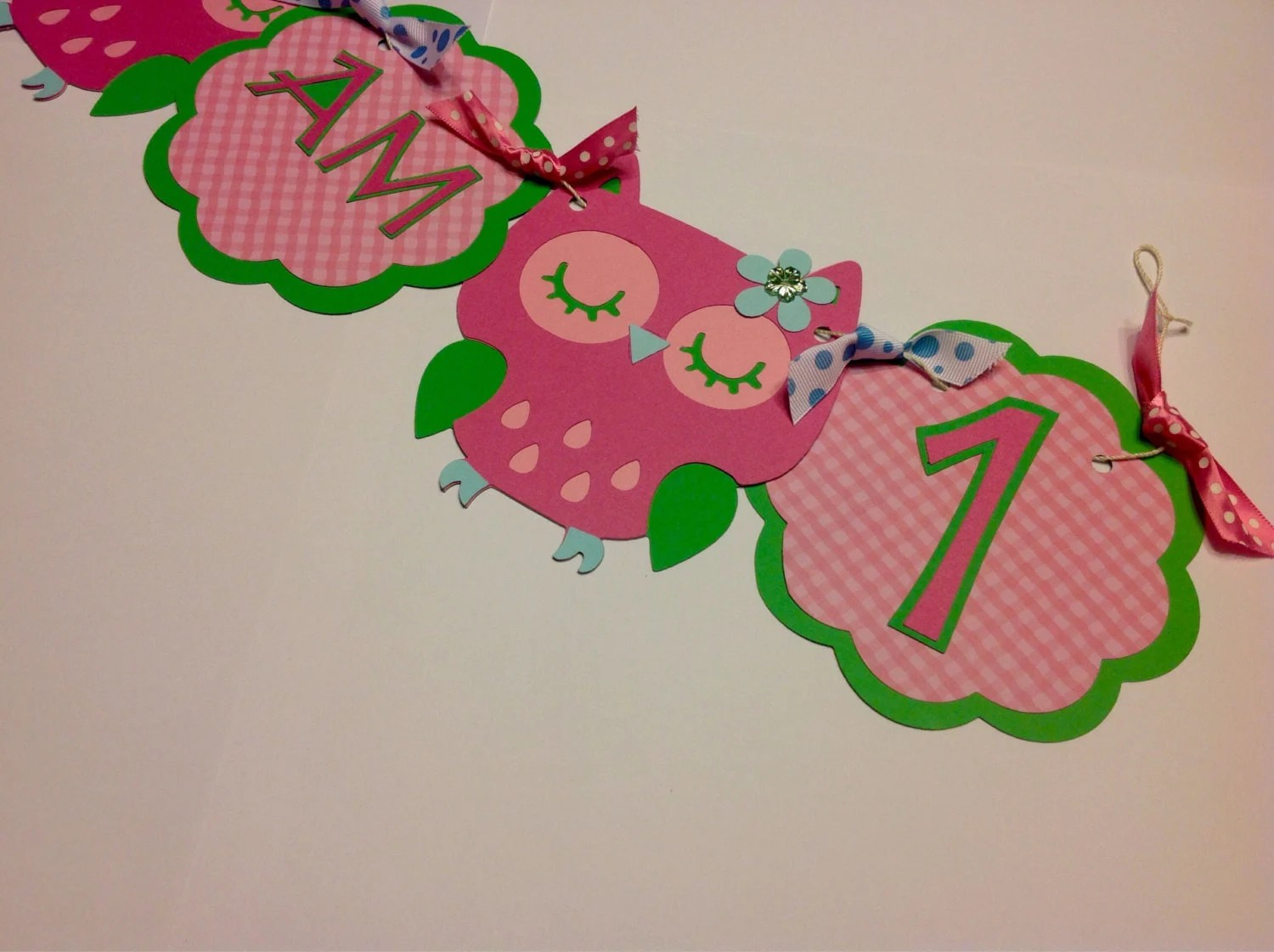 Owl High Chair Owl High Chair Banner For Birthday Party Baby Girl Boy Shower