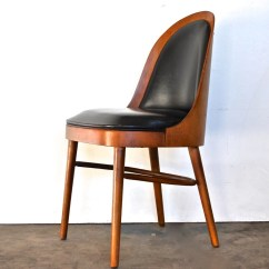 Modern Bentwood Chairs Oversized Wingback Chair Mid Century Vintage Bent Plywood