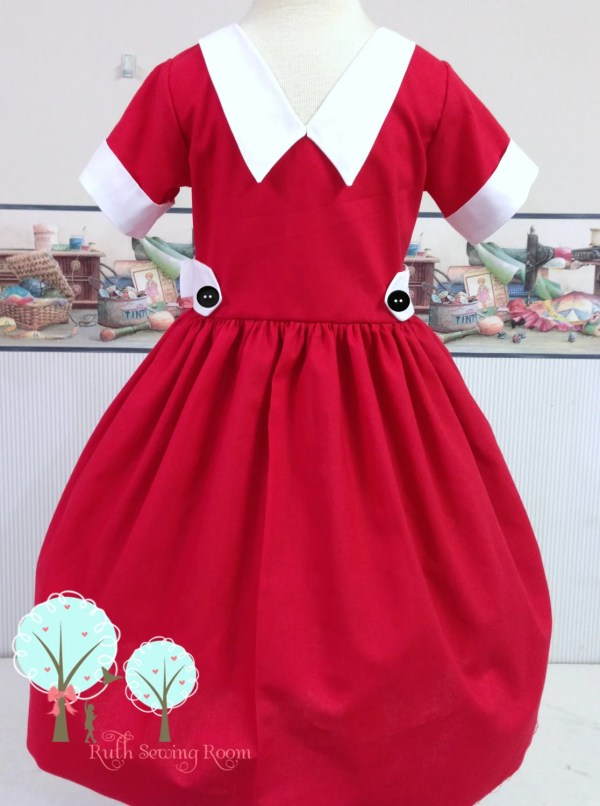 Little Orphan Annie Inspired Dress Costume '