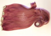 rose hair extensions strawberry