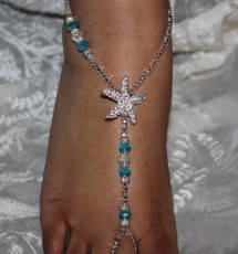Barefoot Sandals Foot Jewelry Beach