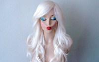 Snow White Hair Dye 6 Frosty White Hair Chalks HairChalk ...