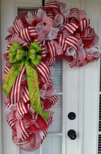 door decoration Super Sized Candy Cane by SouthernWhimsyChic