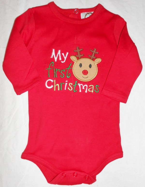 My First Christmas Onesie