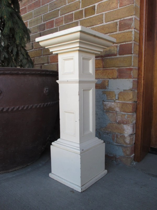 Plant Stand Antique Column