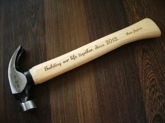 Personalisierte Hammer Geschenk fr ihn Vater von