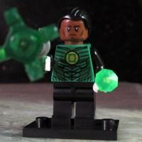 Custom GREEN LANTERN Corps John Stewart LEGO-size Minifigure