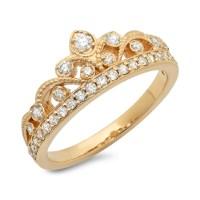 Princess Crown Diamond Ring .40 ct. tw. by JewelersEnterprise