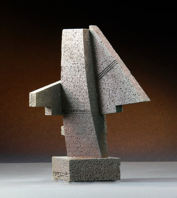 Cheyenne Monolith Abstract Sculpture Maquette Architectural