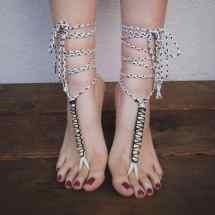 Barefoot Soleless Sandals