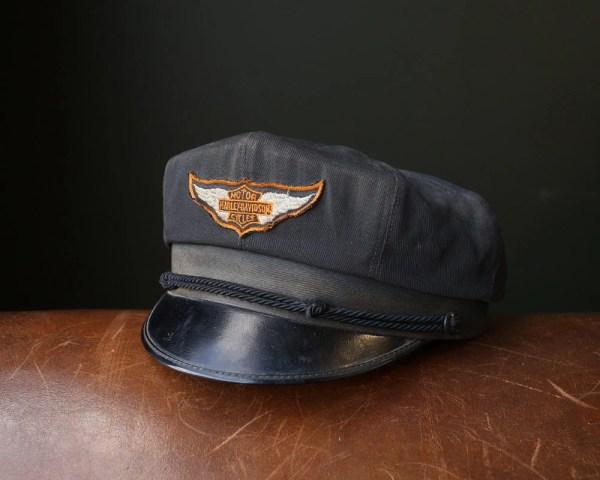 Vintage 1950' Harley Davidson Cap