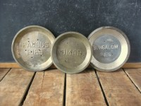 Vintage Pie Plates Antique Pie Tins Instant Collection of 3