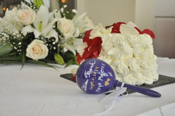 Personalized Mexican Maracas Beautiful Favors Wedding