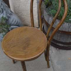 Vintage Bentwood Chairs Make Your Own Office Chair Rare Mid-century Thonet Cafe