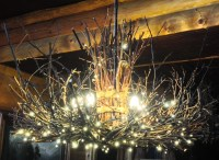 The Appalachian Rustic Outdoor Chandelier 5 Candle