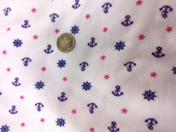 Print Terry Cloth Fabric by the Yard
