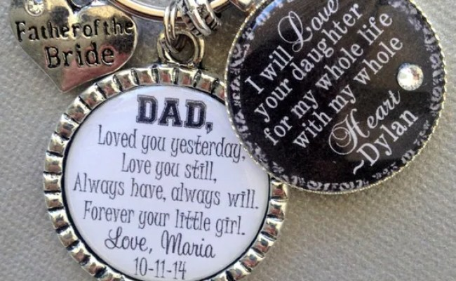Father Of The Bride Personalized Gift Father Of Groom By