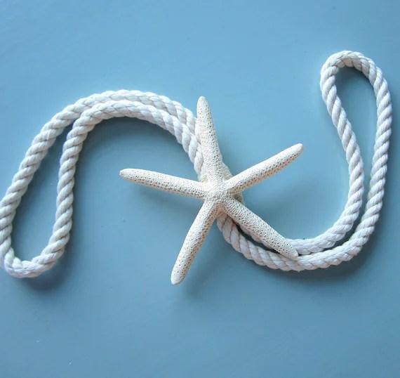 Beach Decor Starfish Tie Back Curtain Tie Back Nautical