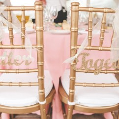 Wedding Bride And Groom Chairs Office Chair Fabric Gold Sign For Better Together
