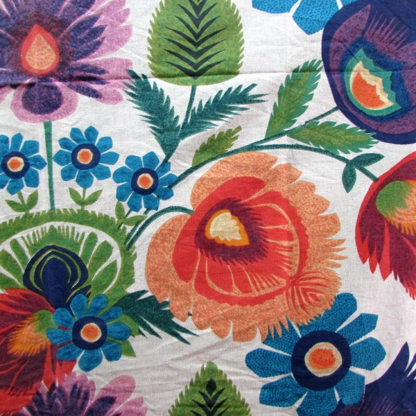 Paper Roses Screenprint Fabric Design Legacy