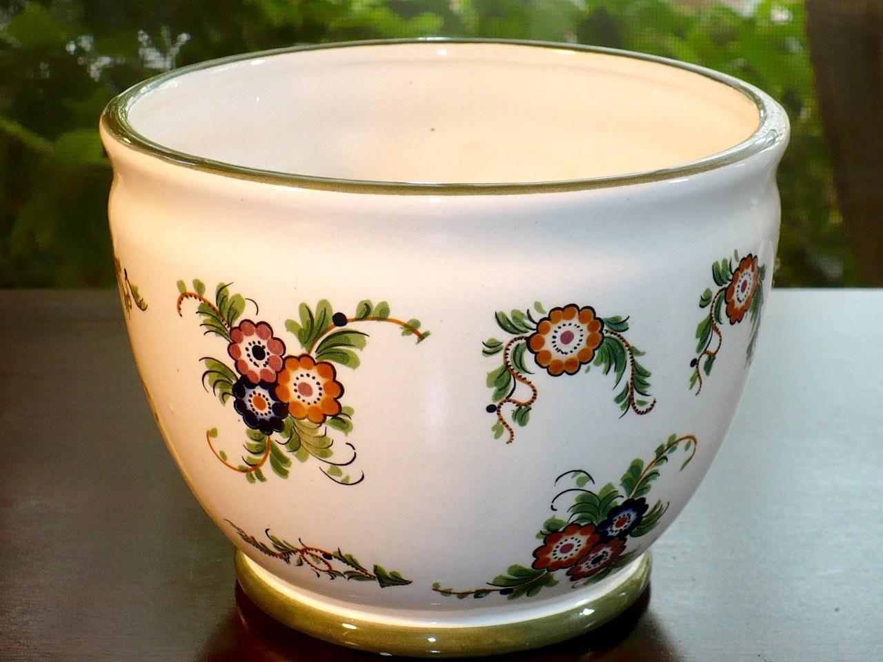 Italian Ceramic Flower Pot & Italian Flower Pots - Year of Clean Water