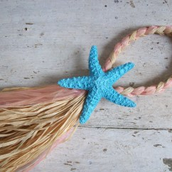 Starfish Wedding Chair Decorations Lowes Outside Chairs Painted Decoration Beach Aisle Decor