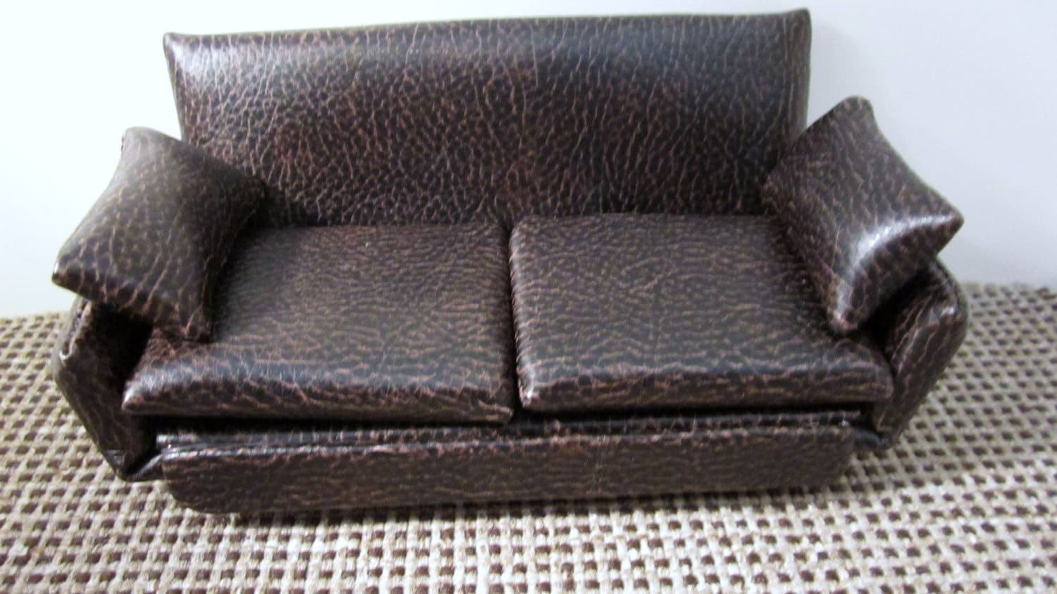 Overstuffed Chair Leather Couch And Overstuffed Chair With Ottoman