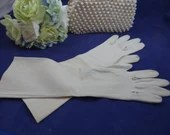 Light Tan Cotton Gloves -...